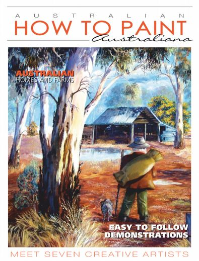 Australian How To Paint digital cover