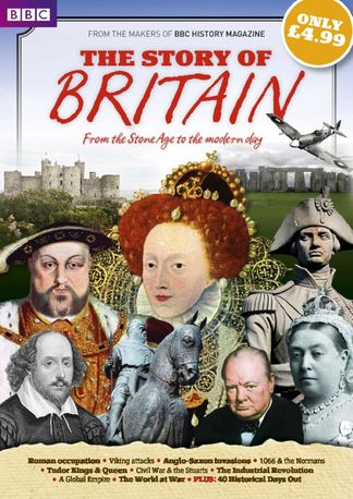 BBC History Magazine presents The Story of Britain digital cover