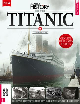 All About History Book of The Titanic digital cover