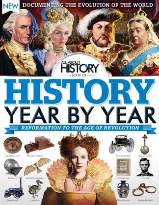 All About History Book of History Year By Year digital cover