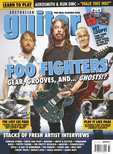Australian Guitar digital cover