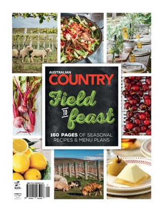 Australian Country Cookbook digital cover