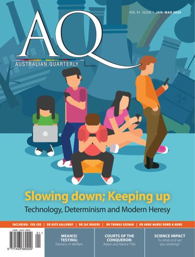 AQ: Australian Quarterly digital cover