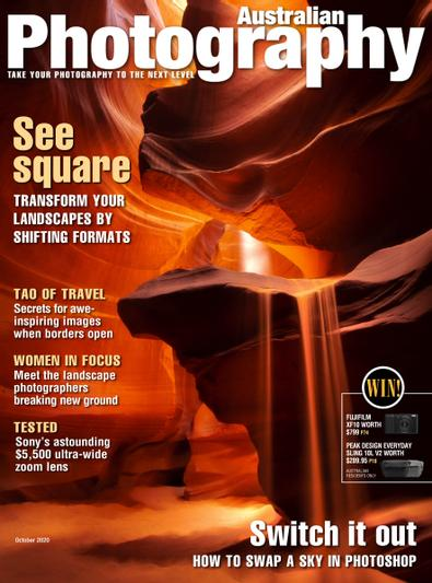 Australian Photography digital cover