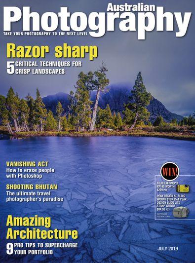 Australian Photography digital cover