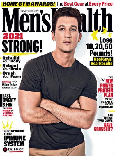 Men's Health digital cover