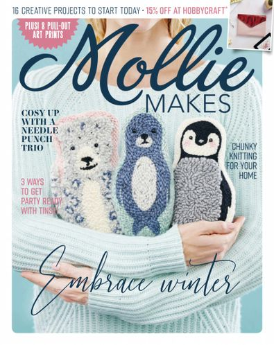 Mollie Makes digital cover