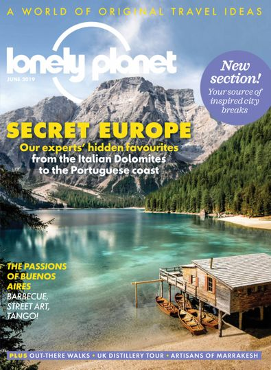 Lonely Planet Traveller digital cover