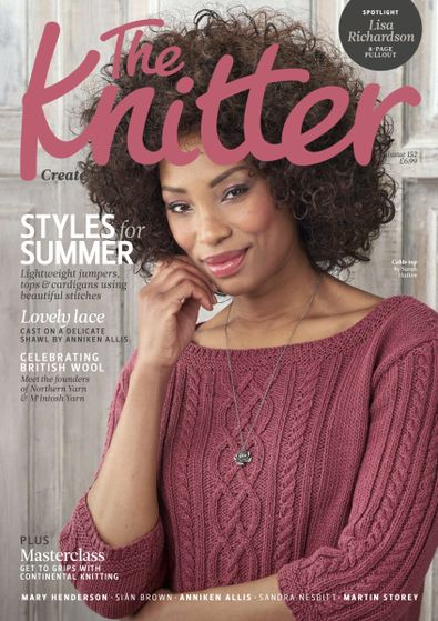 The Knitter digital cover