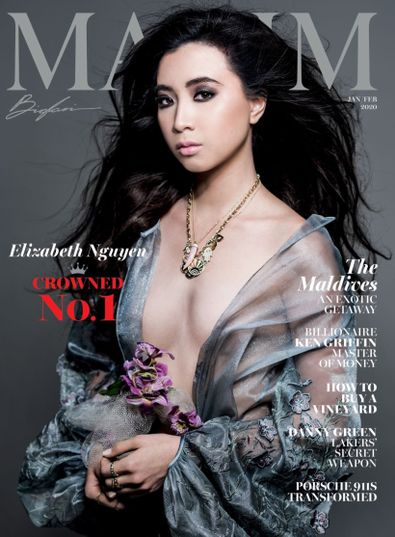Maxim digital cover