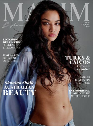 Maxim digital cover