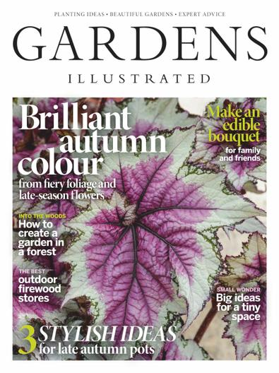 Gardens Illustrated Magazine digital cover