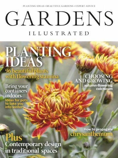 Gardens Illustrated Magazine digital cover