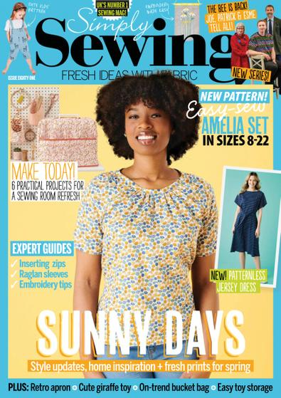 Simply Sewing digital cover