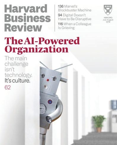 Harvard Business Review digital cover