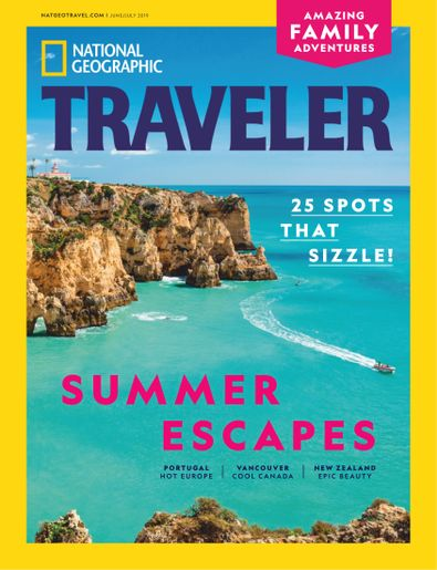 National Geographic Traveler Interactive digital cover
