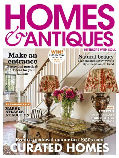 Homes & Antiques digital cover