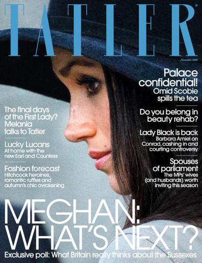 Tatler UK digital cover