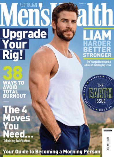 Men's Health Australia digital cover