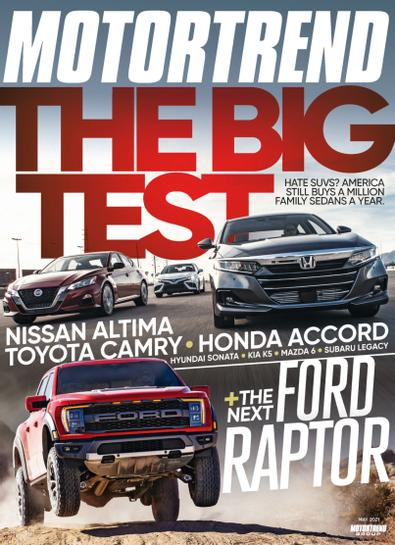 Motor Trend digital cover