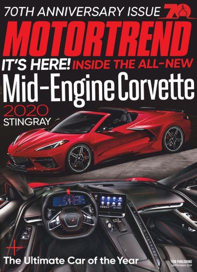 Motor Trend digital cover