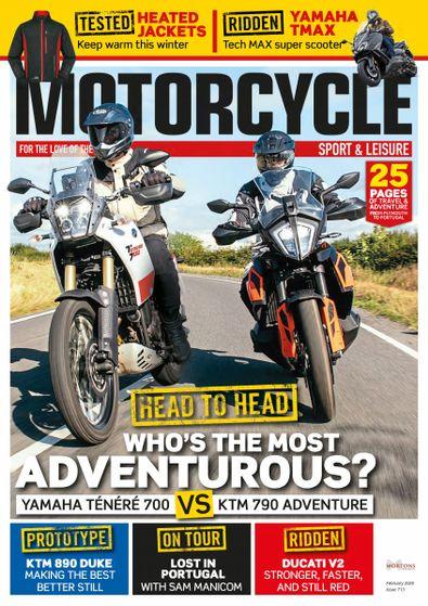 Motorcycle Sport & Leisure digital cover