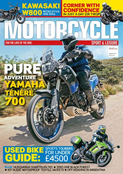 Motorcycle Sport & Leisure digital cover