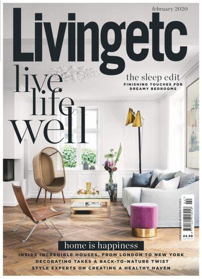 Living Etc digital cover