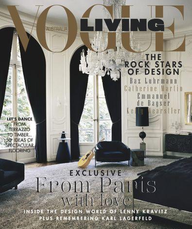 Vogue Living digital cover