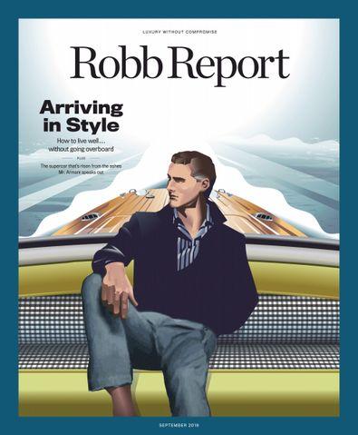Robb Report digital cover