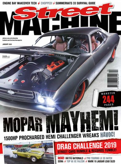 Street Machine digital cover