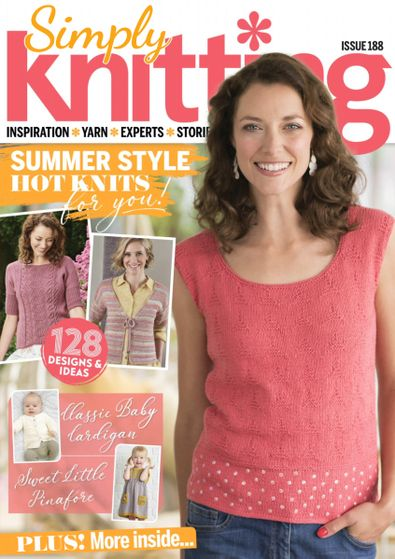 Simply Knitting digital cover