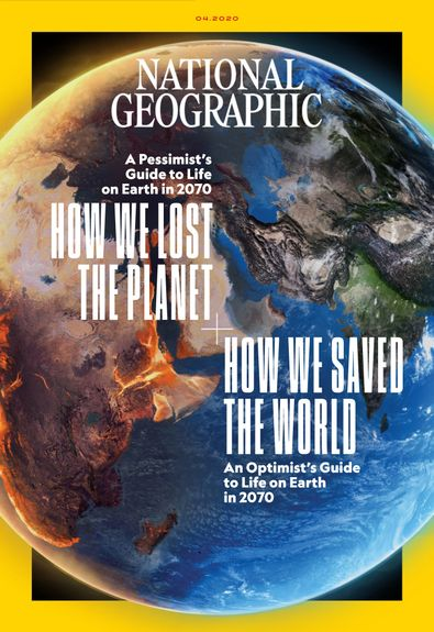 National Geographic Interactive digital cover