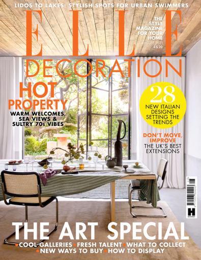 Elle Decoration UK digital cover
