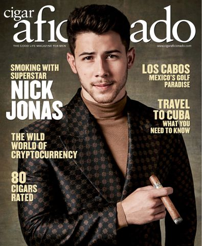Cigar Aficionado digital cover