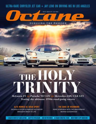 Octane digital cover