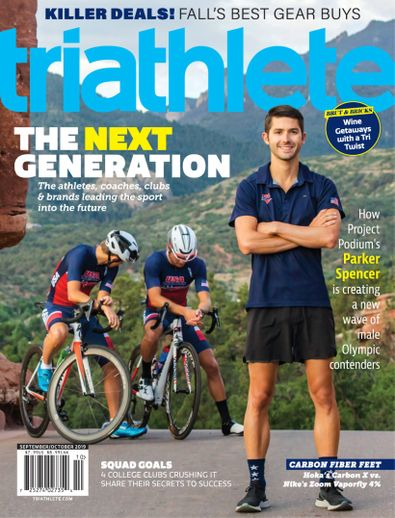 Triathlete digital cover