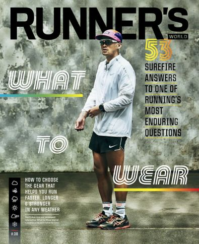 Runner's World digital cover