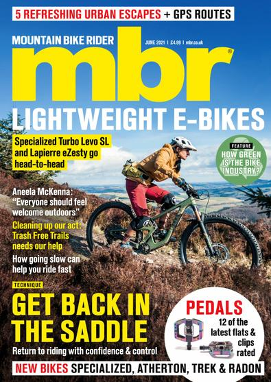 Mountain Bike Rider digital cover