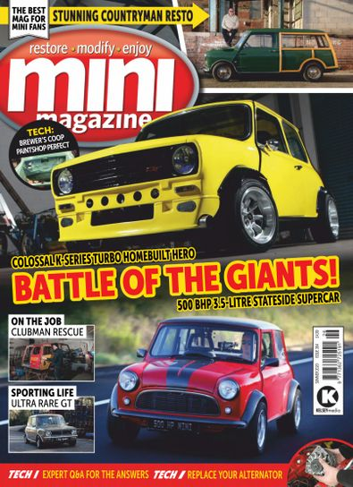 Mini Magazine digital cover