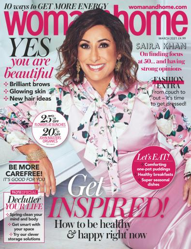 Woman & Home digital cover