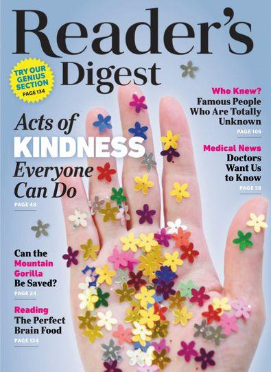 Reader's Digest International digital cover