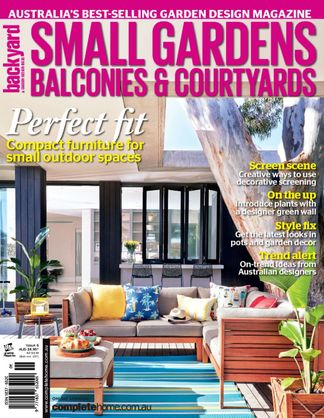 Small Gardens, Balconies & Courtyards digital cover
