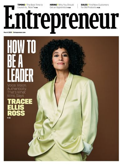 Entrepreneur Magazine digital cover