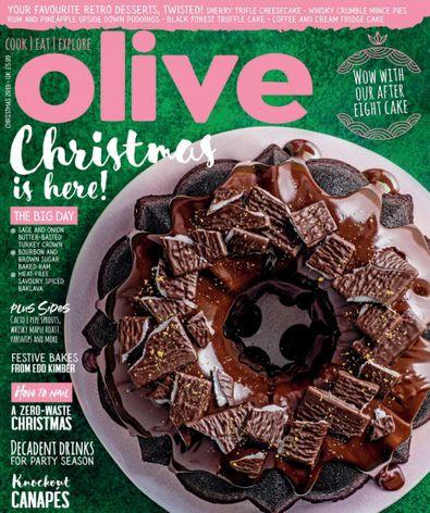Olive Magazine digital cover