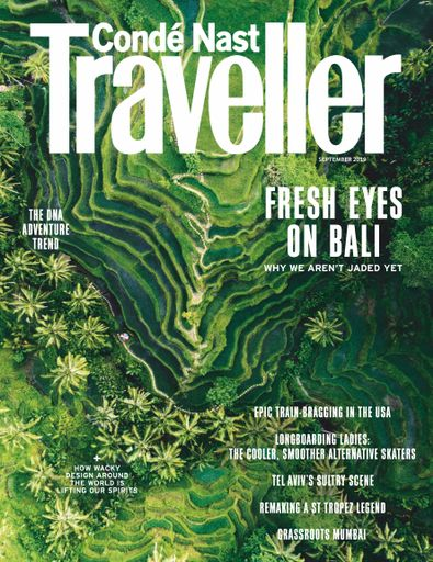 Conde Nast Traveller UK digital cover