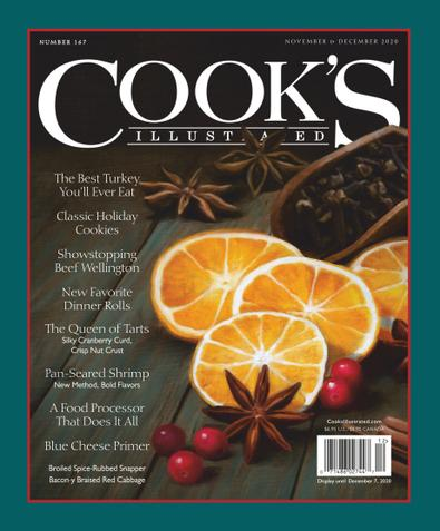 Cook's Illustrated digital cover