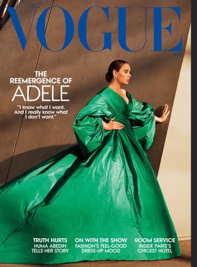 Vogue digital cover