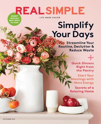 Real Simple digital cover