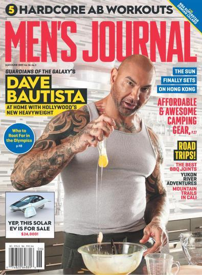 Men's Journal digital cover
